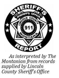 JAIL ROSTER AND SHERIFF'S REPORT   The Montanian